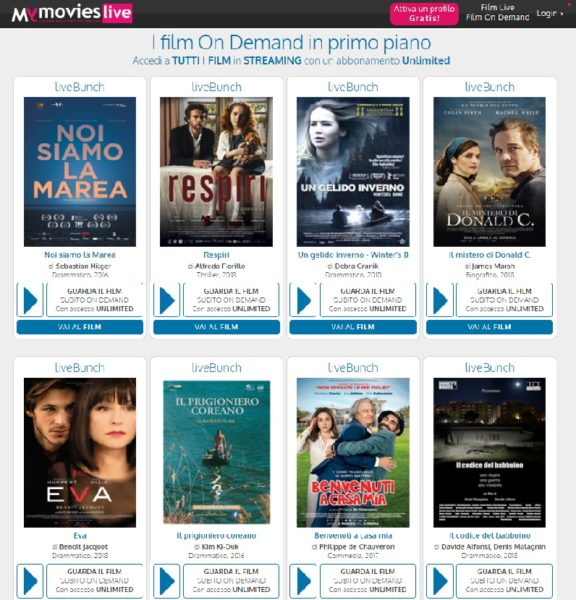my movies live - Film streaming in italiano gratis