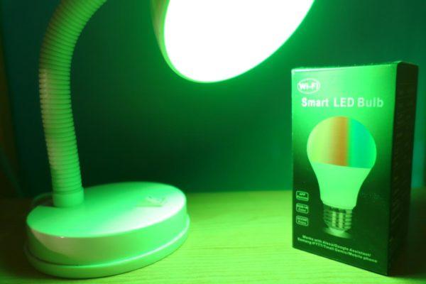 Lampadina Smart WiFi RGB di Mpow
