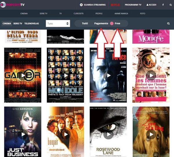 popcorn tv - Film streaming in italiano gratis