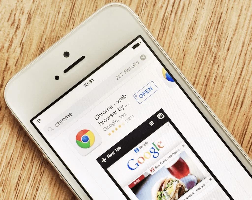 Come aggiungere motore di ricerca a Chrome su iOS 2