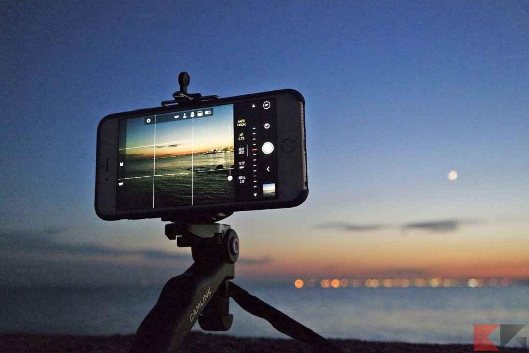 Come fotografare la luna con lo smartphone