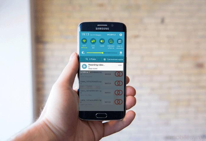 Come registrare lo schermo su Samsung 1