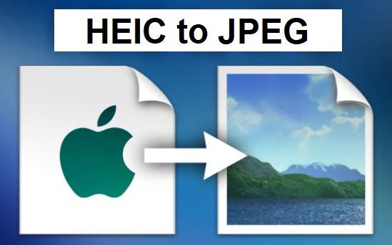 Convertire HEIC in JPEG in Windows 10