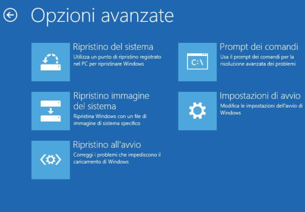 Recuperare partizione di Windows