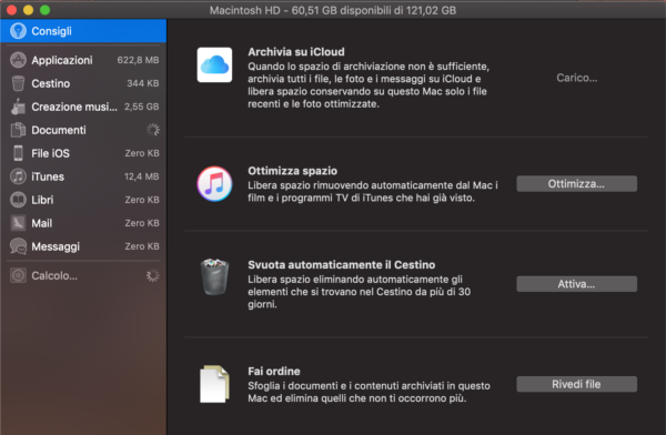 Ottimizzazione Mac S4
