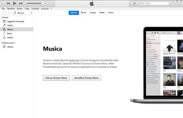 Convertire M4A in MP3 con Mac-iTunes