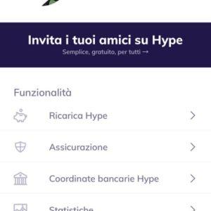Funzioni Hype