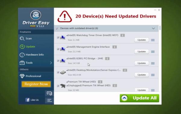 Come aggiornare driver gratis PC