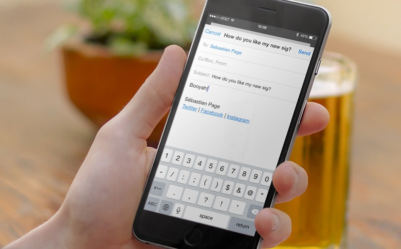 Come bloccare email su iPhone 2