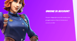Come unire account Fortnite