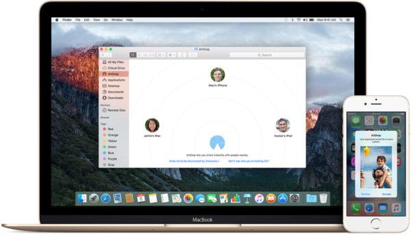 Come usare AirDrop su Mac