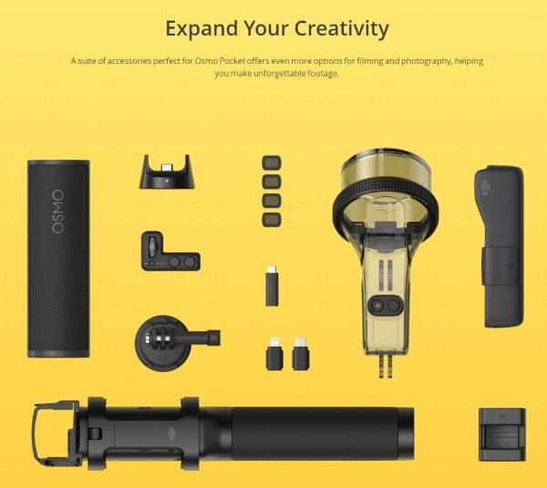 DJI OSMO Pocket i migliori accessori-FOTO