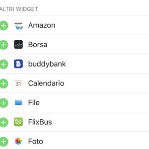 widget iOS secondo metodo 2