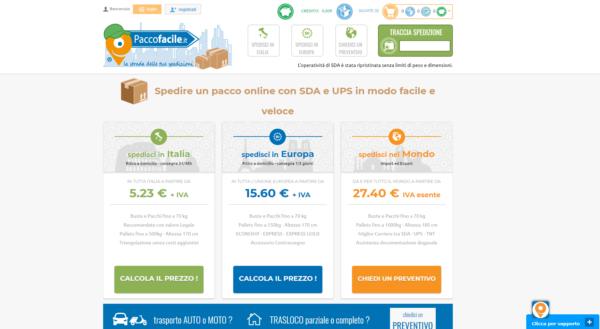 Spedire pacchi online i migliori siti e servizi paccofacile.it