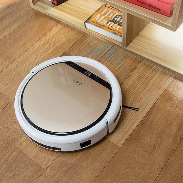 ILIFE V7s Plus Telecomando Aspirapolvere Robot Lavapavimenti Pulizia la FAMIGLIA