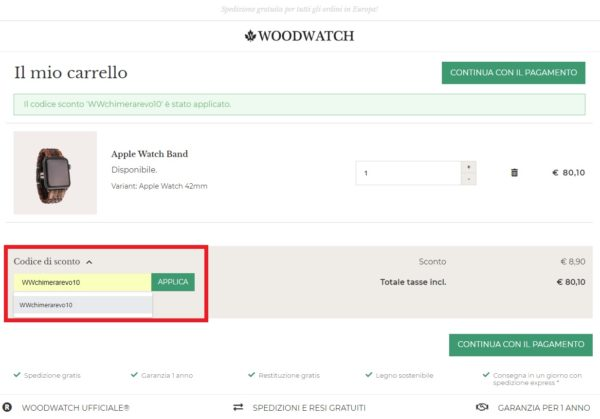 woodwatch apple watch