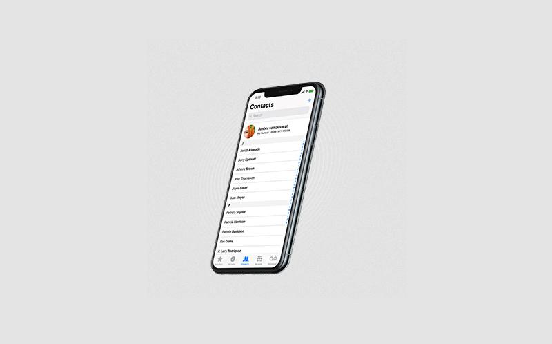 Come aggiungere un soprannome ai contatti iPhone 1
