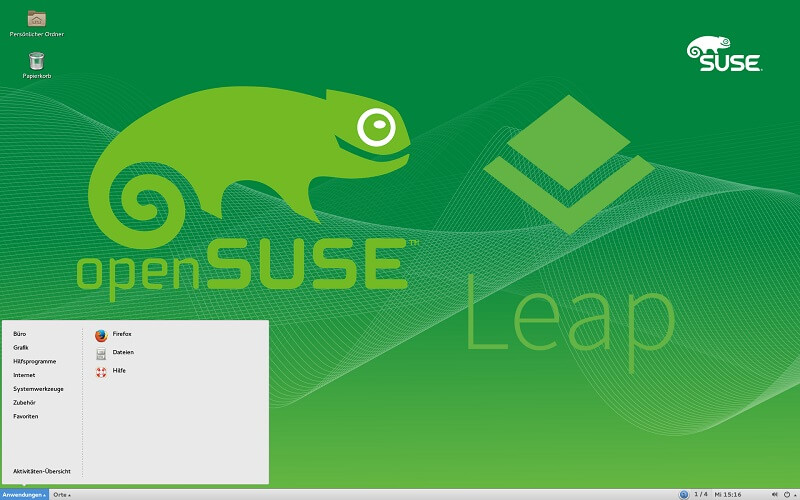 Come convertire OpenSUSE Leap in Tumbleweed 1