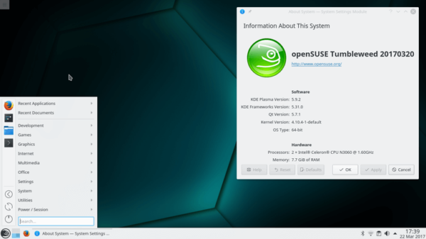 Come convertire OpenSUSE Leap in Tumbleweed