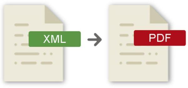 Come convertire XML in PDF