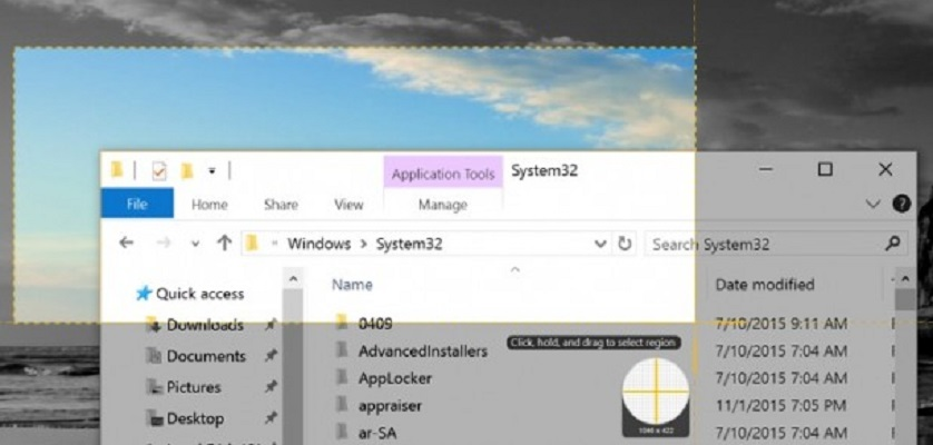 Come fare screenshot in Windows 10 2