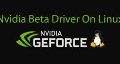 Come installare driver NVIDIA beta su Linux