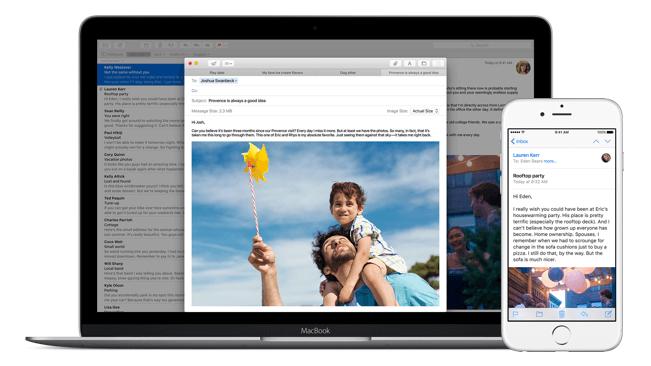 Come programmare invio e mail su Mail 1