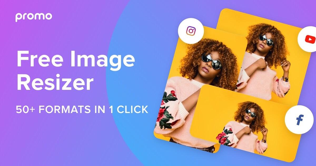 Promo Image Resizer ridimensionare immagini per i social 1