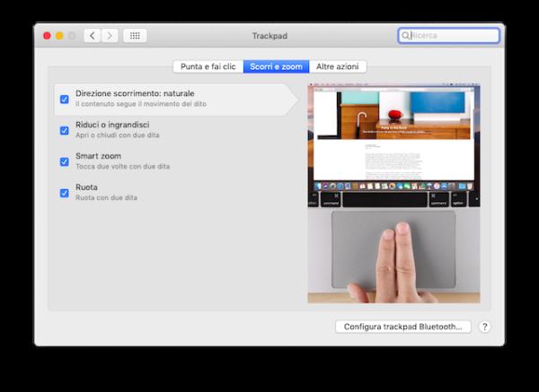gestures trackpad macbook 2