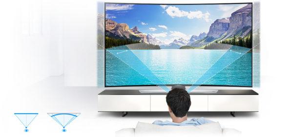 TV curvo o piatto quale scegliere
