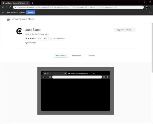 dark mode Chrome 5