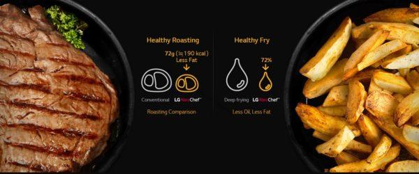 microonde LG - healthy fry