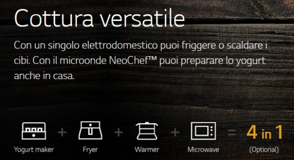 microonde LG - neochef