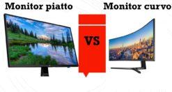 monitor curvo vs piatto: quale scegliere