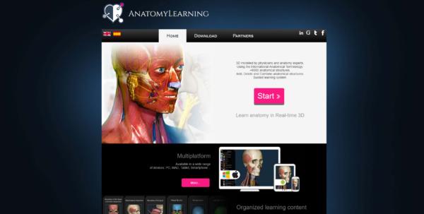 Anatomia umana 3D migliori siti e app