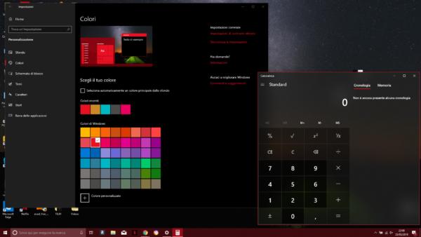 Come attivare il tema scuro su Windows 10