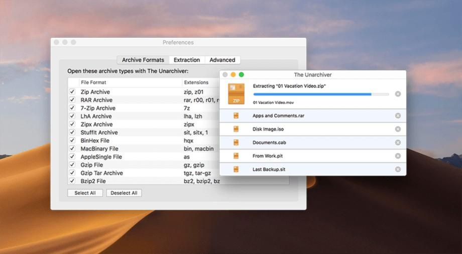 Come estrarre file RAR su Mac 1