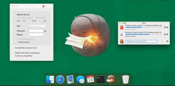 Come estrarre file RAR su Mac