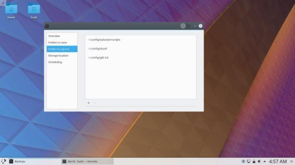 Come fare backup impostazioni di KDE Plasma su Linux
