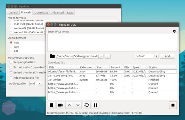 Come salvare video YouTube su Linux con YouTube-DL GUI