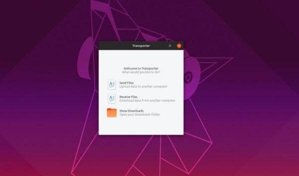 Come scambiare file tra PC Linux con Transporter