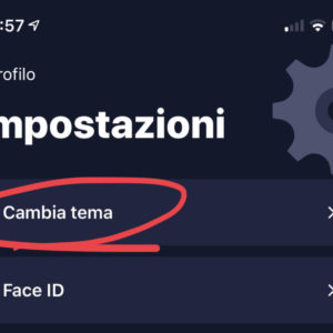 Come cambiare tema nell'app di Buddybank