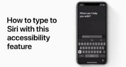 Come effettuare richieste a Siri utilizzando la tastiera