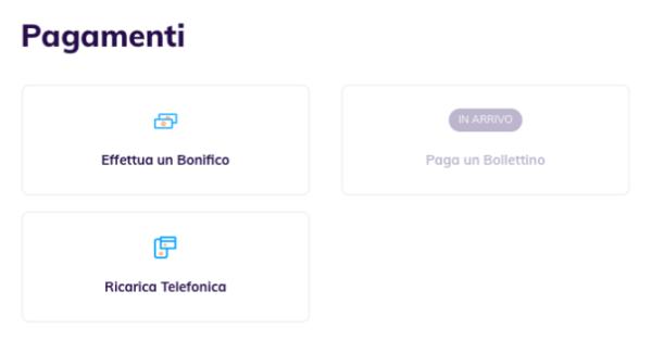 Hype: le differenze tra l'app e il sito web: pagamenti