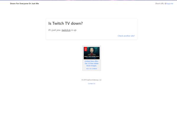 Twitch non carica o non funziona su Chrome