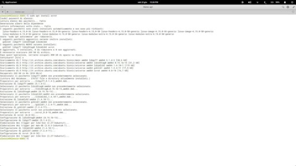 Come catturare screenshot da terminale Linux con Scrot