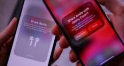 Come condividere audio e musica tra due AirPods