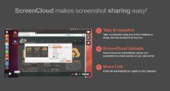 Come condividere screenshot su Linux con ScreenCloud