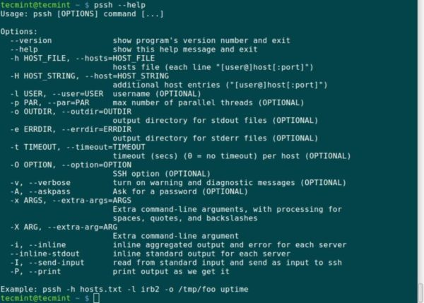 Come eseguire comandi da remoto su più PC Linux con Pssh