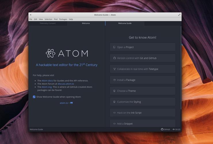 Come installare GitHub Atom su Linux 2